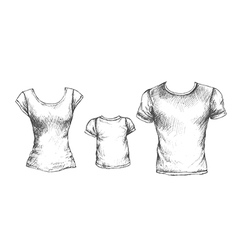 Tshirts vector