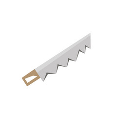 hand saw icon stock flat design side view vector image vector image