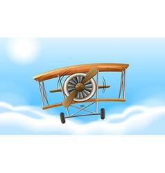 A vintage propeller vector image