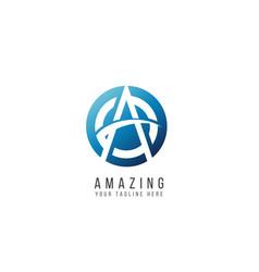 Amazing logo template design vector