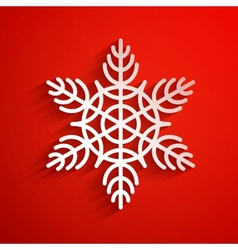 background with snowflake eps10 vector image