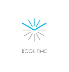 book symbol vector image