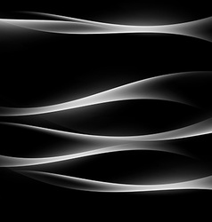 Bright glow white lines modern background vector image