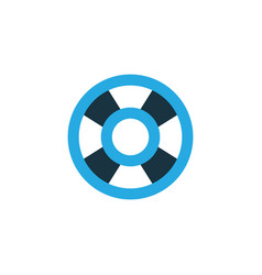 lifeguard colorful icon symbol premium quality vector image
