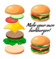 Make burger vector