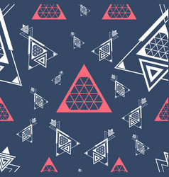 new pattern 0234 sacred geometry vector image