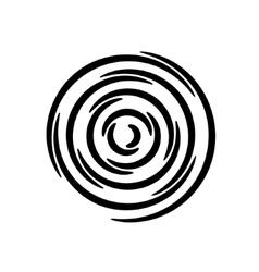 Set of spirals Design element vector image