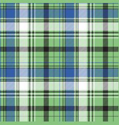 Tartan plaid fabric textile seamless pattern vector