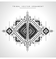 Tribal ethnic Mexican African ornament vector image