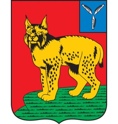 Turkovsky district vector