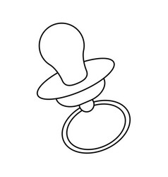 baby icon image vector image
