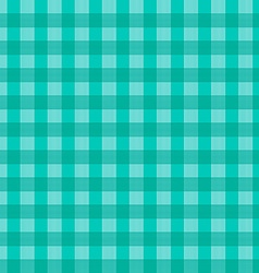 Seamless Retro Tablecloth Blue Pattern vector image
