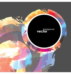 Abstract brush Background vector image vector image