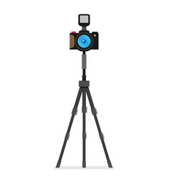 photo camera modern minimal flat design style vector image vector image