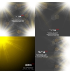 Abstract blurry background with overlying semi vector
