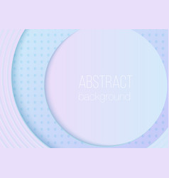 abstract volumetric 3d rounded gradient color vector image