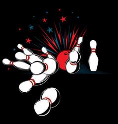 Bowling-pins vector