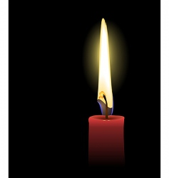 Candle light vector