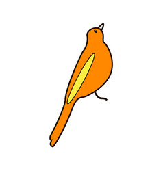 Cartoon bird can be used for vector
