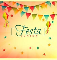 Festa junina event festival design vector