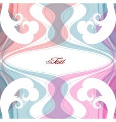 pastel background vector image