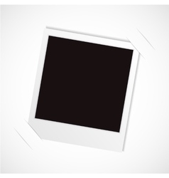 photo frame for your object vector image