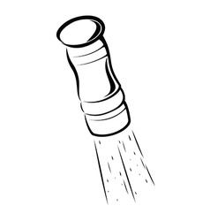 Salt cellar vector