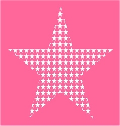 Star pattern vector