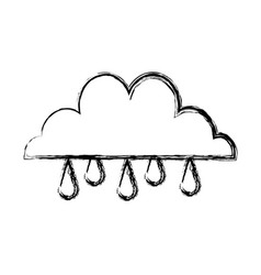 Cloud rain water climate weather image vector