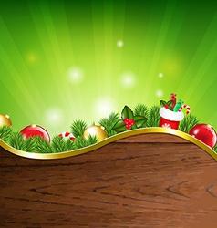 Happy Xmas Banner vector image