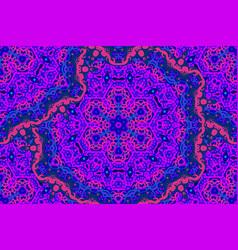 hand drawn magenta seamless pattern vector image