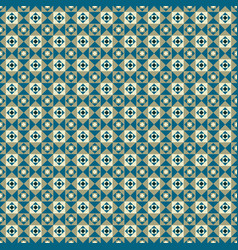 seamless pattern with triangles and squares vector image