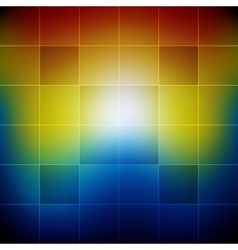 Blurred vibrant rainbow colors abstract background vector