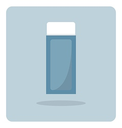 Flat icon eraser vector