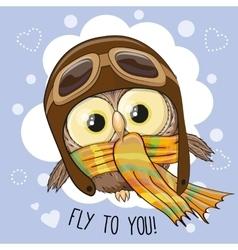 Little Owl Pilot vector