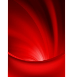 Red curtain fade to dark card EPS 8 vector