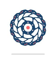 Rotor vector image