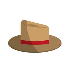 Summer hat icon image vector