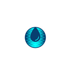 Water drop logo designs inspiration isolated on vector