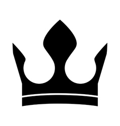 roayl crown icon vector image