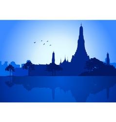 Bangkok vector image