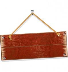 old board vector image vector image