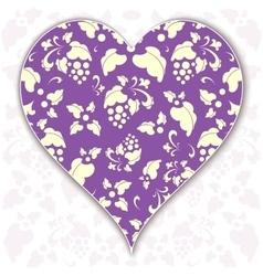heart Valentine vector image