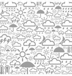 Background weather3 vector image