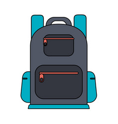 backpack icon image vector image
