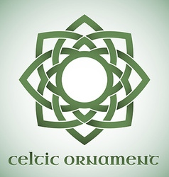 Celtic ornament with gradients vector