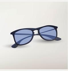 isolated eye glasses on white background vector image