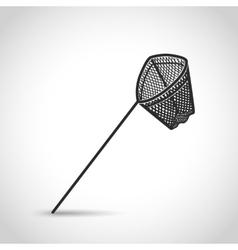 landing net icon vector image