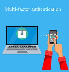 Multi-factor authentication design vector