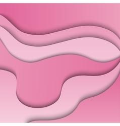 Pink 3d background vector